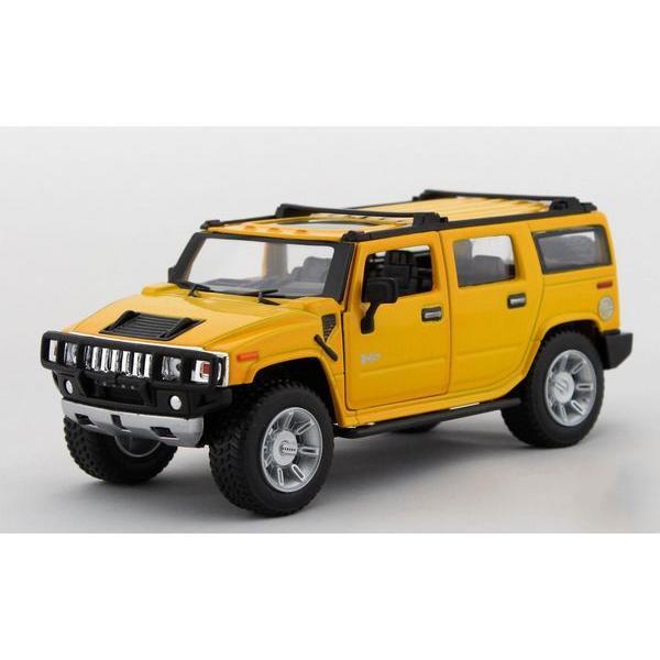 Children Kids Kinsmart 2008 Hummer H2 SUV Model Car 1:32 KT7006 7inch Diecast Metal Alloy Cars Toy Gift
