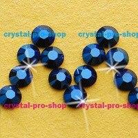 Swarovski Elements Metallic Blue METBL No Hotfix Or Hotfix Iron On Ss5 Ss34 2mm 7mm Crystal