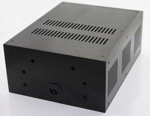 Image 3 - حالة 285*150*370 مللي متر WA109 الألومنيوم مكبر للصوت الشاسيه/فئة A مكبر كهربائي/النقي بعد مكبر للصوت حالة/AMP ضميمة/حالة/DIY مربع