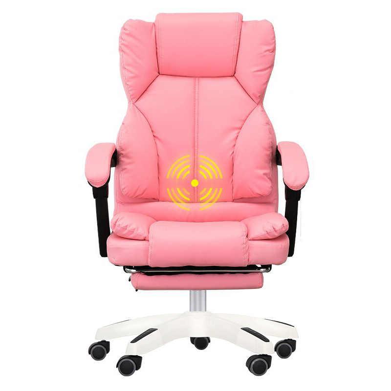 Компьютерный стул домашний стул офисный стул может лежать с подставкой для ног эргономичное кресло босс стул