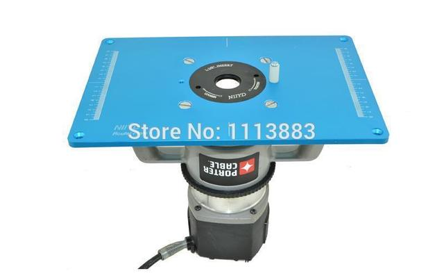 Aliexpress buy router table insert plate with pre drilled router table insert plate with pre drilled holes and 3 removable rings to match different greentooth Image collections