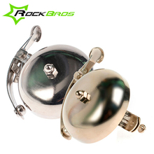 Clearance! RockBros Vintage Bicycle Bell MTB Mountain Bike Accessories Cycling Alarm Handlebar Copper Horn