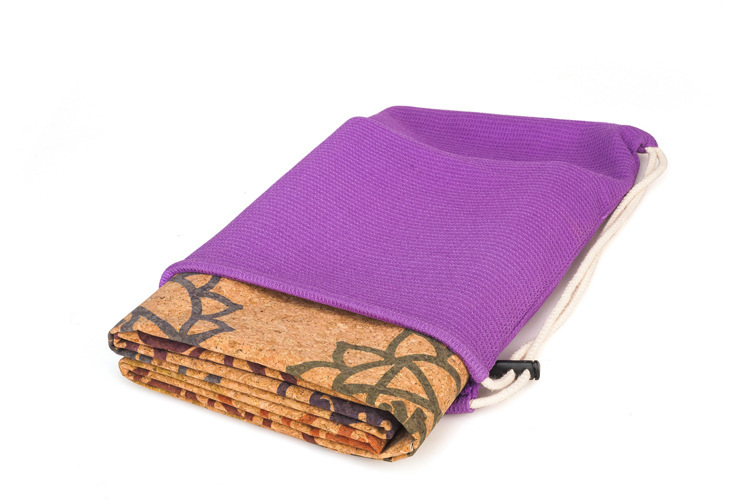 1mm natural látex cortiça yoga esteira ultrafinos