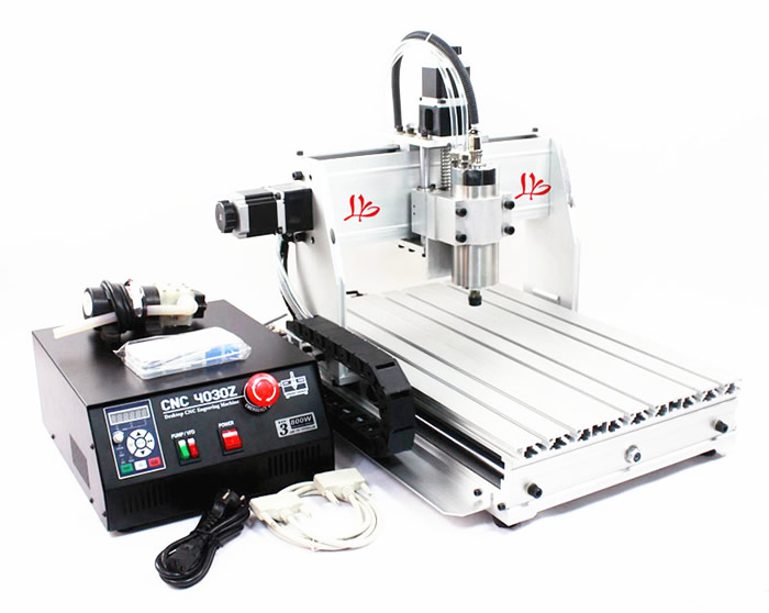 Working for hard metal !High quality CNC Router 3040Z-S engraving machine+3.175mm cnc router bits+ ER11,cnc milling machine eur free tax cnc 6040z frame of engraving and milling machine for diy cnc router