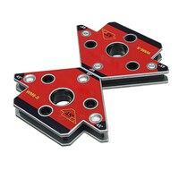 2pcs/set WM6 S Arrow Magnetic Welding Holder Neodymium Magnet Welding Clamp Small Size High Quality