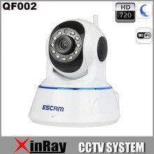 Envío Libre 720 P QF002 Wireless Wifi CCTV Cámara IP Construido en el Micrófono de Apoyo IOS Móvil Día y Noche versión