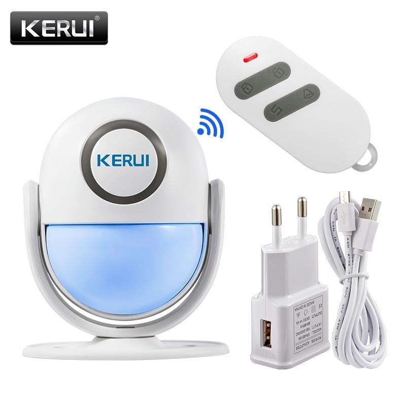KERUI WP6 Coût-efficace Sans Fil WiFi Système D'alarme de Sécurité À Domicile App Contrôle Infrarouge PIR Détecteur de Mouvement D'alarme