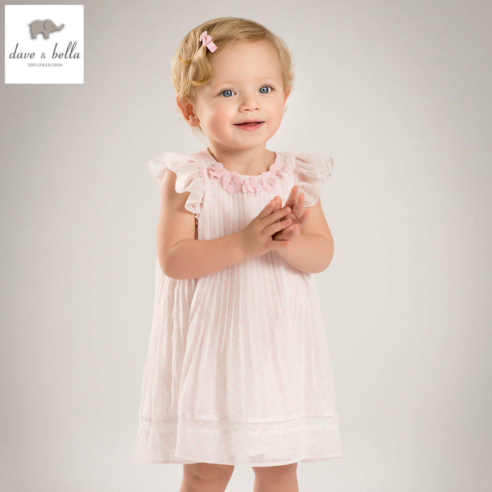 DB4874 dave bella summer baby girl princess dress childs wedding dress kids birthday clothes girls costumes children dress джинсы мужские altamont wilshire