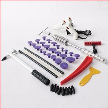 auto body repair tools pdr kit slide hammer glue pull tabs tapdown t bar puller dent removal system paintless