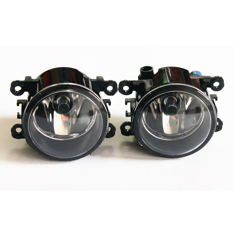 For Renault MEGANE 2/3/CC Fluence DUSTER Koleos SANDERO STEPWAY LOGAN Kangoo 1998-2015 Car styling Fog Lamps halogen Fog lights адаптер рулевого управления connects2 ctsdc001 для renault duster sandero 2010