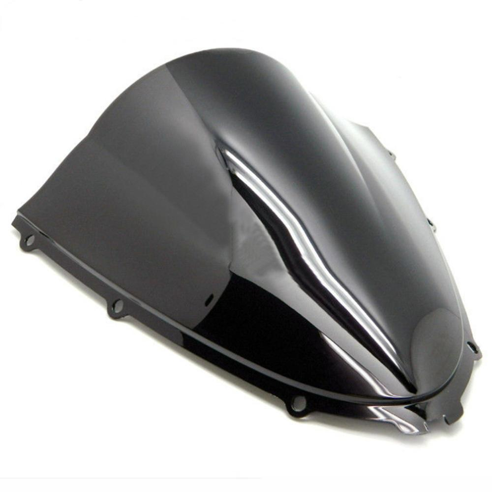 Smoke Black Double Bubble Windscreen Windshield for 06-2018 Kawasaki Ninja ZX14R
