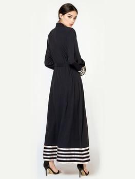 Cardigan Taille Plus | Caftan Marocaine Femmes Robe Musulmane Maxi Cardigan Abaya Moyen-orient Vêtements Grande Taille 5XL Malaisie Robe