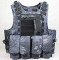 Тактический жилет открытый продукты Камуфляж амфибия Антитеррористические Военные Защитный боевой Подготовки Охота Airsoft MOLLE