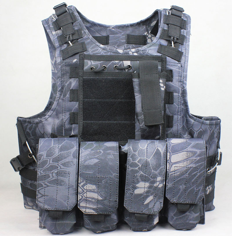 Tactical vest outdoor products Camouflage amphibious Counterterrorism Military Protective Training combat Hunting Airsoft MOLLE new black army cs tactical vest military protective combat camouflage molle vest outdoor hunting training tactical vest