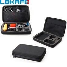 LBKAFA Big EVA Collection Box Large Storage Case Cag For SJCAM SJ4000 SJ5000 Gopro Hero 6 5 4 3+ 3 2 EKEN XIAOYI Sport Camera