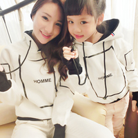 Father Dad And Son Matching Clothes Mother Daughter Outfits Long Sleeve Mom And Daughter Girls Clothes