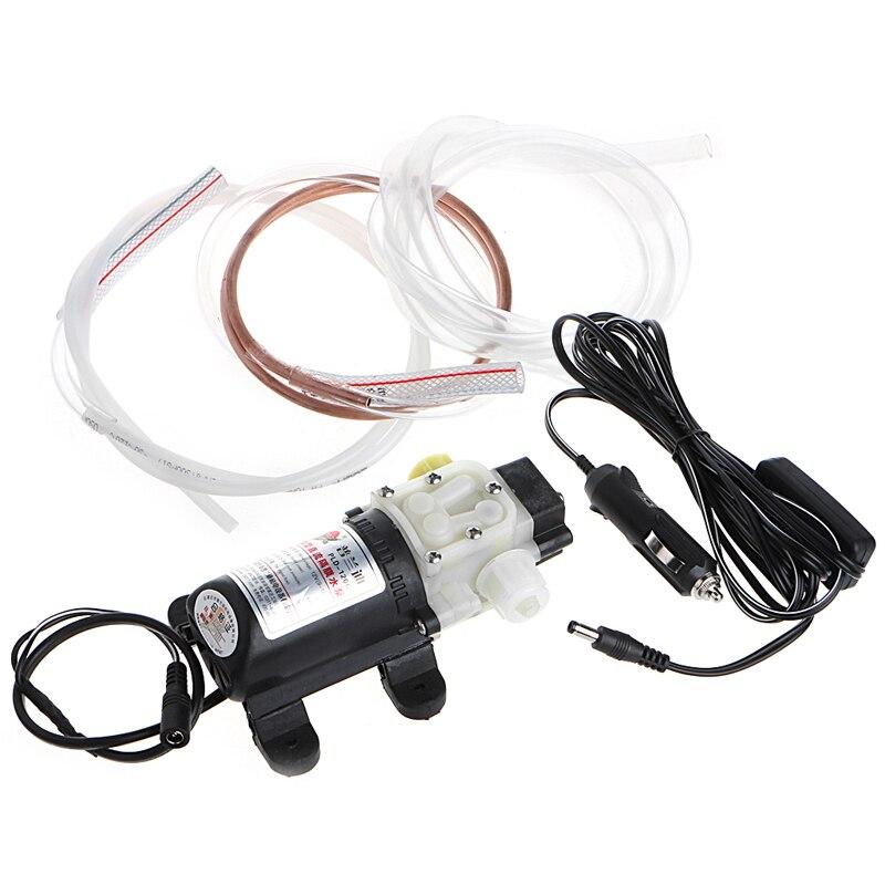 Pompe de transfert avec allume-cigare 12 V 45 w voiture huile électrique Diesel extracteur de carburant Dls