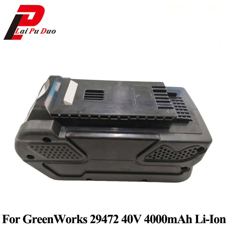 For GreenWorks 29472 Replacement Power Tool Battery Li-Ion 40V 4000mAh Rechargeable G-MAX BatteryFor GreenWorks 29472 Replacement Power Tool Battery Li-Ion 40V 4000mAh Rechargeable G-MAX Battery