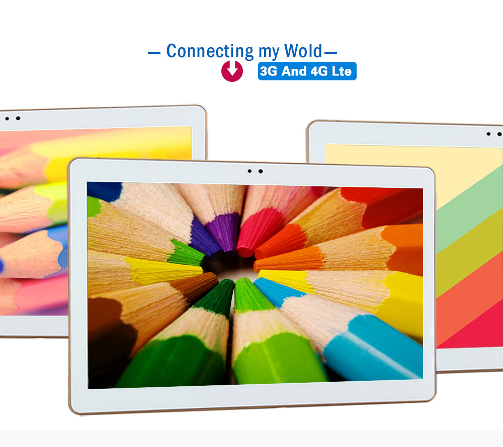 10 Android 8.0 tablette intelligente pcs android tablette pc 10.1 pouces 10 core MT6797 tablette ordinateur Ram 4 GB Rom 32 GB 64 GB 1920X1200 8MP