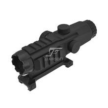 TARGET OPTICS LPHM Mark4 3x24 with Red/Green Reticle illumination Rifle Scope (Black/Tan) Mark 4 HAMR
