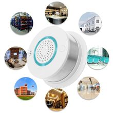 цена на Smart WIFI Wireless Fire Smoke Detector Alarm Temperature Sensor for Home Security APP Remote Control Gadgets