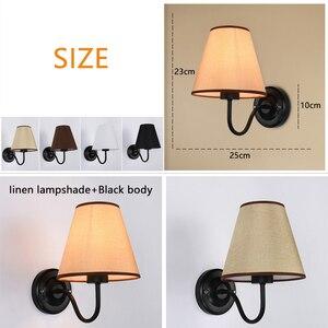Image 2 - 플러그 LED 벽 빛 눈을 가진 현대 LED 벽 빛은 가정 침실 복도 zbd0021를위한 독서 연구 램프 실내 sconce를 보호한다