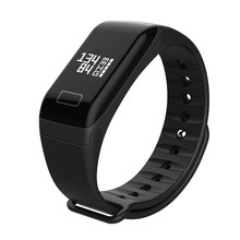 GIAUSA F1 Fitness Tracker Bluetooth Pedometer Smart Bracelet Heart Rate Monitor Blood Pressure Band for Android iOS