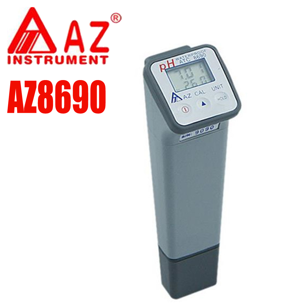 AZ-8690 Digital Water ph meter 0-14 Water Quality Meter ph tester automatic compensation цена