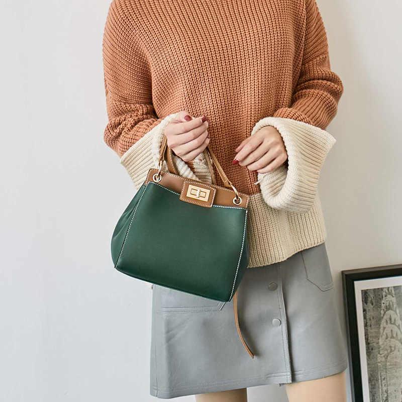 FUNMARDI Модная Женская сумка кросс-боди Женская сумка с замковом Дизайном Маленькая Сумка-Мессенджер Женская сумка через плечо из PU Кожи WLHB1803