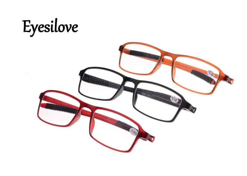 Eyesilove 20 Teile/los Kunststoff Tr90 Lesebrille Für Männer Frauen Presbyopie Brille Linsen Power 4,00 1,0 Bis