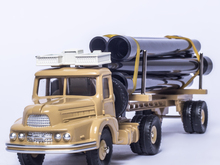 ATLAS DINKY TOYS SUPERTOYS 893 TRACTEUR UNIC SAHARIEN 1/43 Alloy Diecast Car model & Toys Model for Collection