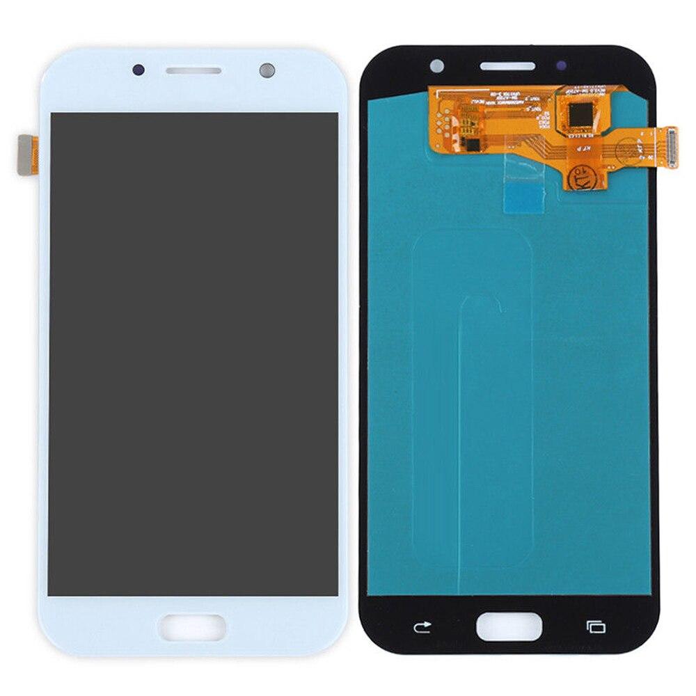 Pour Samsung Galaxy A7 2017 Oled Affichage à L'écran Tactile Digitizer Assemblée Pour Samsung A720F A720M A720Y Affichage A720 LCD Tactile