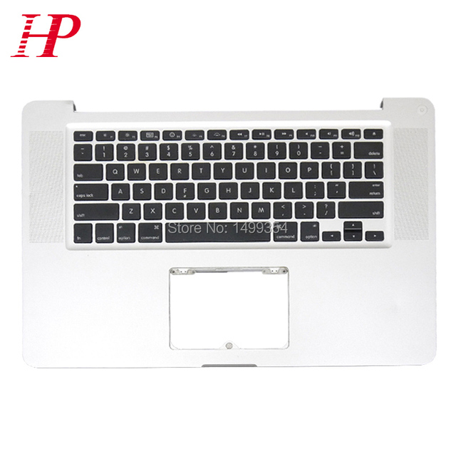 "95% NUEVO Top Case Topcase Teclado para MacBook Pro A1286 15 ""2009 No Trackpad"