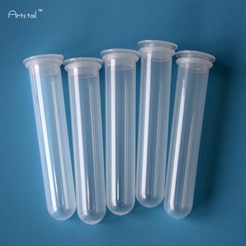 20 ml probówki wirówkowej do badań tworzyw sztucznych rury pe płaskie gniazdo czapka z okrągłym dnem butelka próbka grube ściany odpowiednia sprężystość 20 sztuk tanie i dobre opinie Probówek lxp20ml50P 110mm 20mm