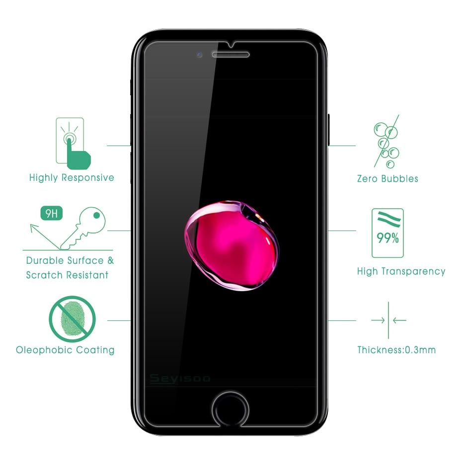100% original Seyisoo 2.5D 0.3mm mycket responsiv skärmskydd härdat - Reservdelar och tillbehör för mobiltelefoner - Foto 3