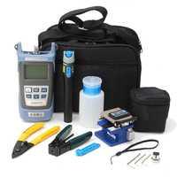 For FC 6S Fiber Optic FTTH Tool Kit Fiber With AUA 60S Fiber Cleaver Optical Power