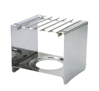 Stainless steel square Wind shelf, hobs. The grill for heat mocha pot, gas pot, good helper for the outdoor cooking coffee