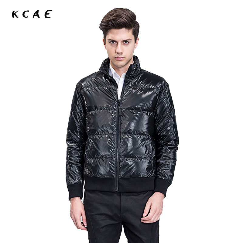 New Men Jackets Winter Cotton Padded Jacket Men's Casual Zipper Warm Parka Fashion Stand Collar Thicken Outerwear Coat