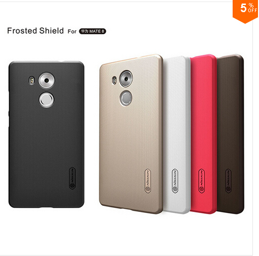 For Huawei Mate 8 Case Nillkin Super Frosted Shield Hard Back Cover Case For Huawei Mate 8 phone bags