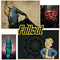 Game poster for Fallout shelter pc games poster Vintage retro Posters Wall Sticker  part 1
