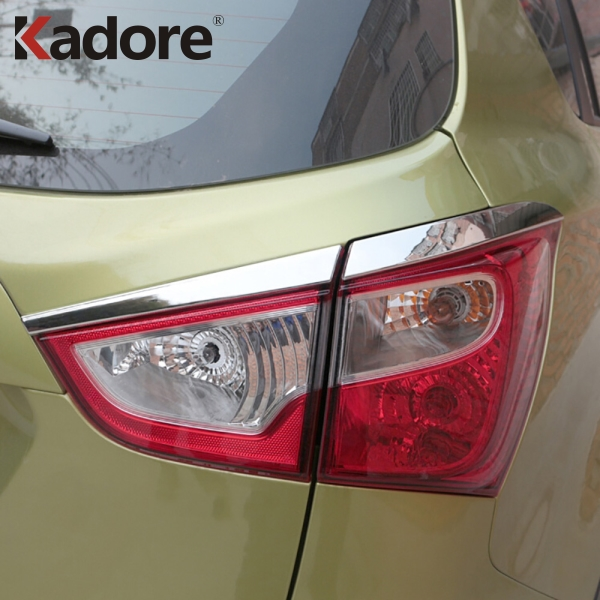 For Suzuki Sx4 S-Cross Crossover 2014-2018 Second GE ABS Chrome Taillight Strip Cover Trim Rear Tail Light Lamp Protector Bezel