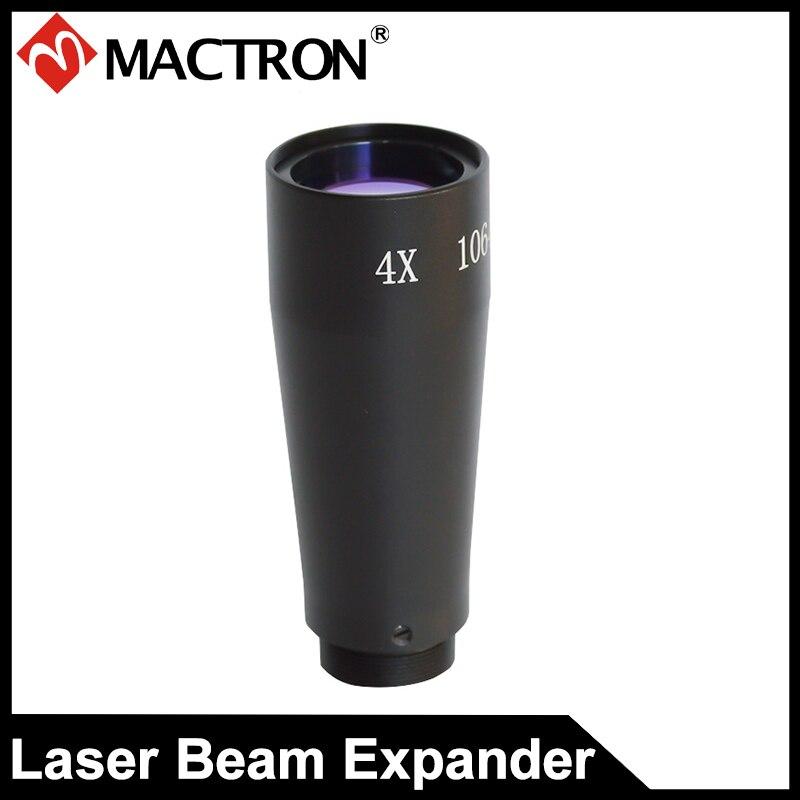 YAG 4X lazerio pluošto plėtiklis skirtas žymėti lazeriu, suvirinimo lazeriu mašina