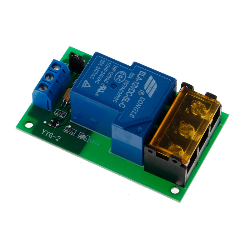 1 Channel 12V 30A Relay Board Module Optocoupler Isolation High/Low Trigger New 1pc 12v 4 channel relay module with optocoupler isolation supports high low trigger 828 promotion