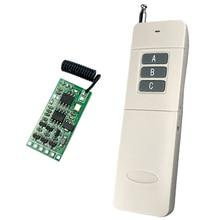 Wireless Remote Control Switch 433mhz rf Transmitter Receiver 3.5v 3.7v 6V 9v 12v Circuit Micro Controller Mini Small Module