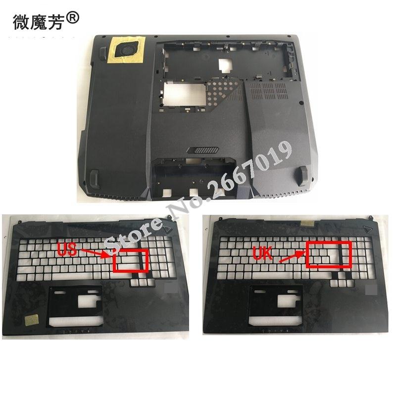 NEW Laptop Bottom Base Case Cover Door for ASUS G750 G750JW G750JX Palmrest COVER C shell 13NB0181AP0121 new cover for asus taichi31 taichi 31 palmrest topcase and bottom base cover
