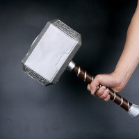 Thor Hammer 1:1 Thor Odinson Mjolnir 1:1 Cosplay Thor Toys High Simulation Rubber M136