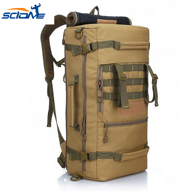 Scione New Military Tactical Backpack Camping Bags Mountaineering bag Men s Hiking Climbing Sport Rucksacks Riding