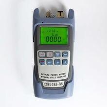 Все в Один Оптический Измеритель Мощности-70 ~ + 10dBm и Волоконно-Оптический Кабель Тестер Визуальный Дефектоскоп 1 МВт