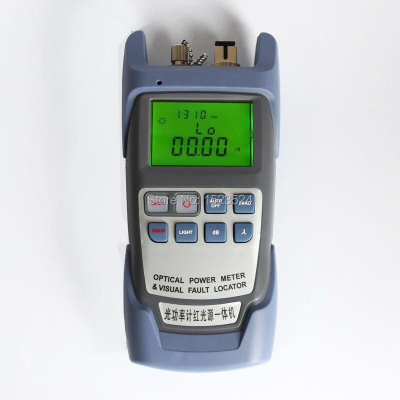 imágenes para Todo en Un Solo Medidor de Potencia Óptica-70 ~ + $ number dbm y Visual Fault Locator Fiber Optic Cable Tester 1 mw