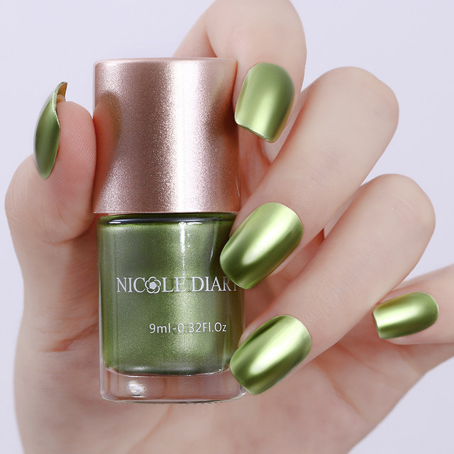 Tienda Online 9 ml Nicole diario metálico uñas polaco rojo azul ...